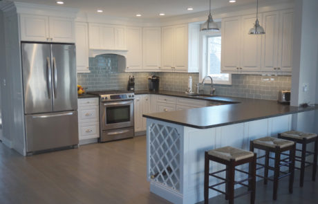 Beautiful Kitchen Remodeled with Tile from Tile By Design, Inc. #KitchenTile